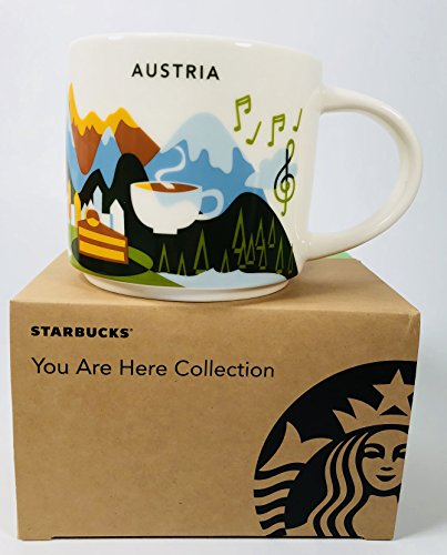 Starbucks City Mug You Are Here Collection Austria Österreich Kaffeetasse Coffee Cup