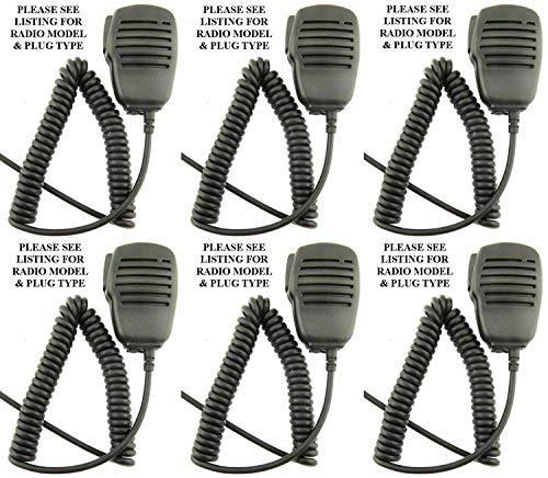 Wouxun Altavoz Micrófono con Auricular Entrada KG-UVD1P KG-UV9D KG-UV8D KG-UV6D X 6