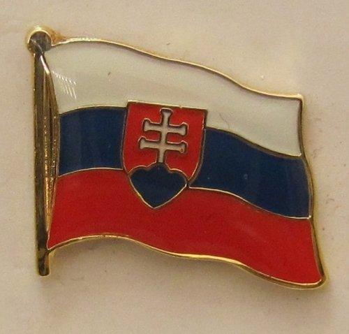 Pin Anstecker Flagge Fahne Slowakei Nationalflagge Flaggenpin Badge Button Flaggen Clip Anstecknadel