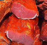 Rohe geräucherte Lende frisch lecker und exquisit mit kaltem Erlen- und Buchenholz geräuchert Weihnachten (100/2.99Euro)