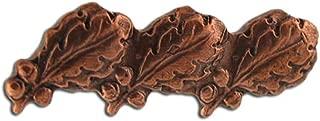 Triple Bronze Oak Leaf Cluster