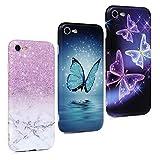 3X Coque pour iPhone 7 Case iPhone 8 Coque Beaulife Ultra Mince Slim Design Élégant Coque Souple...