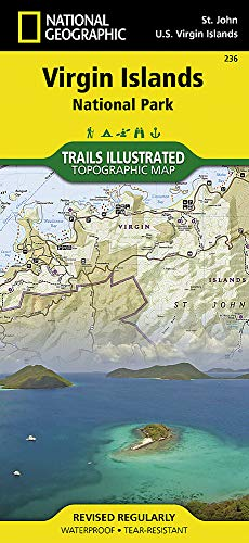 Virgin Islands National Park (National Geographic Trails Illustrated Map (236))