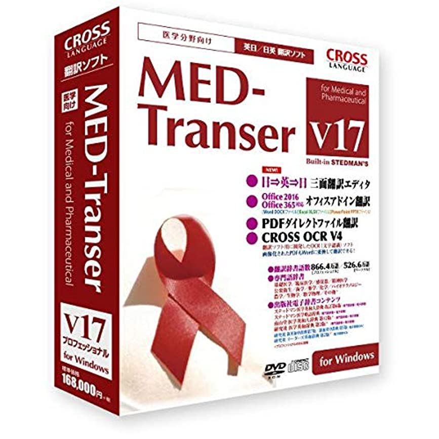 ゲージ洞察力姿勢MED-Transer V17 プロフェッショナル for Windows