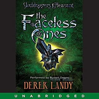 The Faceless Ones audiobook cover art