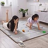 La Almohadilla eléctrica de calefacción recientemente Mejorada y cómoda con Calentamiento Extremadamente rápido también se Puede Utilizar como Calentador de pies, Esterilla de Yoga, etc.