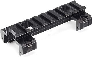 WINFREE MP5/G3 Rail Mount Low Profile 21mm Picatinny Weaver Rail Adapter Hunting Scope Rail Base