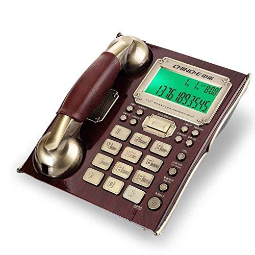 FZYE Teléfono Antiguo Versión de la máquina contestadora Bloqueador de Llamadas Pantalla de la Persona Que Llama Manos Libres Teléfono con Altavoz - Teléfonos Retro con pulsador Teléfon