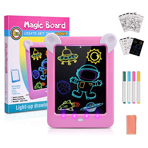 Gifts for 3-10 Year Old Girls Boys, Drawing Pad for Kids Toys for 5 6 7 8 9...