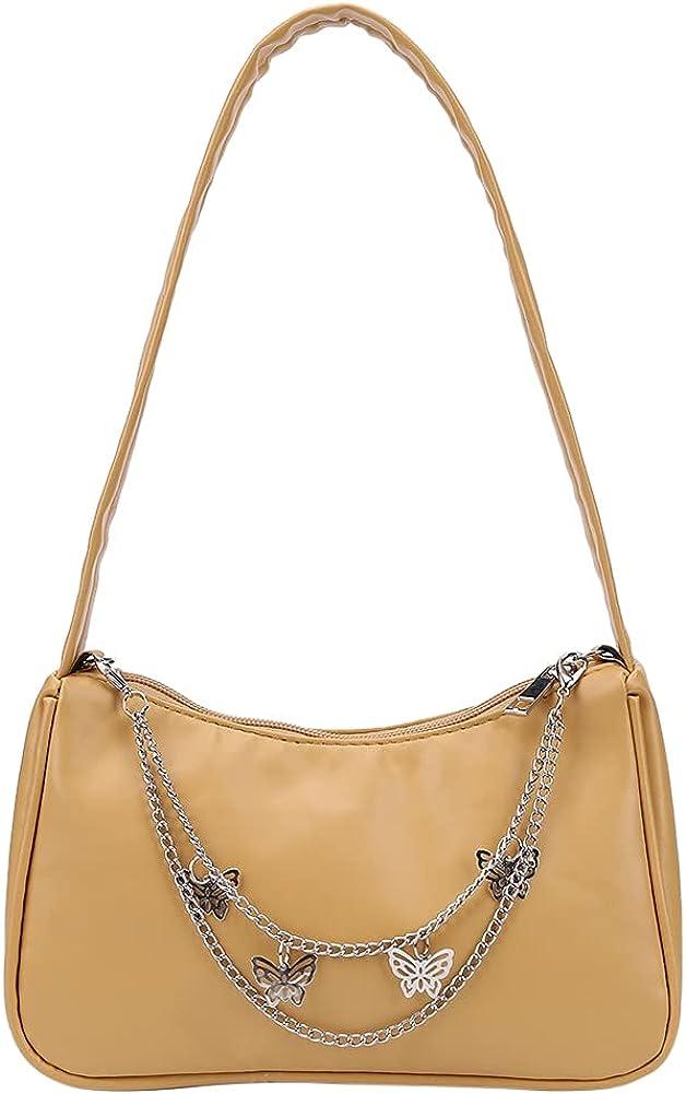 Ladies Zipper Mini Purse Handbag Leather Small Shoulder Bag