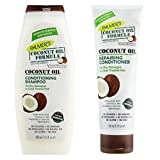 Palmers Coconut Oil Formula Conditioning Shampoo 400Ml & Repairing Conditioner 250Ml Pack by...
