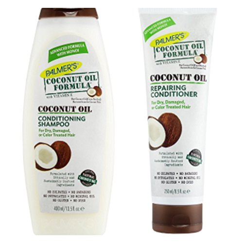 Palmers Coconut Oil Formula Conditioning Shampoo 400Ml & Repairing Conditioner 250Ml Pack by Palmer's