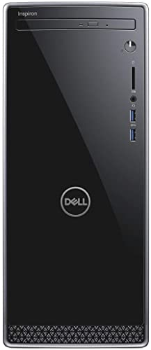 high quality Latest_Dell outlet sale Inspiron 3670 High Performance Desktop, discount 9th Generation Intel Core i5-9400 Processor, 12GB DDR4 RAM, 128GB-SSD + 1TB HDD, Webcam, Wireless+Bluetooth, HDMI,Window 10 outlet sale