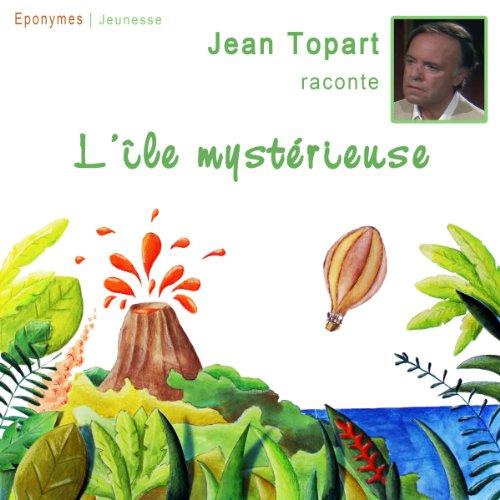 L'île mystérieuse audiobook cover art