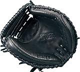 ZETT(ゼット) 軟式野球 キャッチャーミット ソフトステア 右投げ用 ブラック(1900) BRCB35012