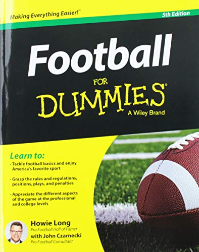 Football For Dummies 5e (Usa Ed)