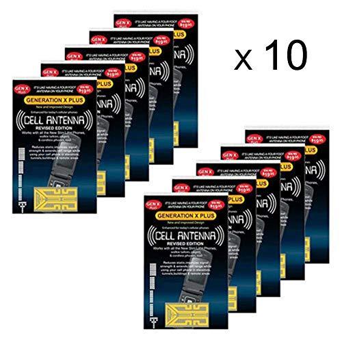 Draulic 10 PCS Handy-Signalverbesserung Gen X Antenne - Booster Verbessern Sie die Aufkleber für Signalantennen-Booster