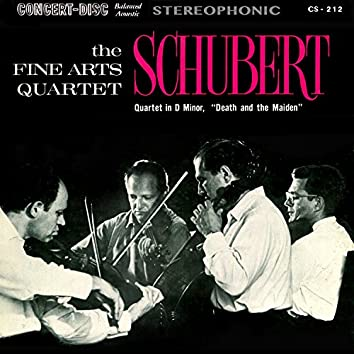 """Schubert: String Quartet No. 14 in D Minor, D. 810 """"Death and the Maiden"""" (Remastered from the Original Concert-Disc Master Tapes)"""