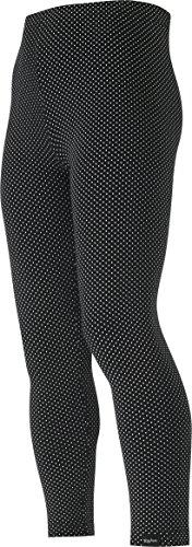 Playshoes Mädchen, Punkten, gepunktet, Oeko-Tex Standard 100 Legging, Schwarz (schwarz 20), (Herstellergröße: 110)
