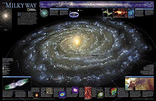 The Milky Way, Planokarte