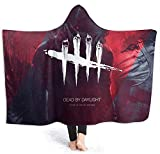 XZHYMJ Blanket Cape Wrap Print Dead by Daylight Manta usable Manta de Lana