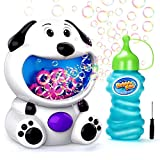 EPCHOO Bubble Machine, Automatic Bubble Making Machine Bubble Maker Toys For Kids Boys Girls Baby Toddlers Baby Girl Toys, Bubble Blower (Puppy)