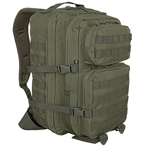 BW-ONLINE-SHOP US Cooper Assault - Mochila, Color Verde Oliva, tamaño Large - 40 Liter