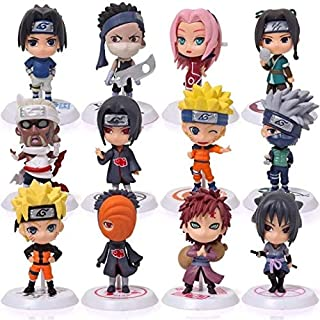 Naruto Anime 12 figures Sasuke