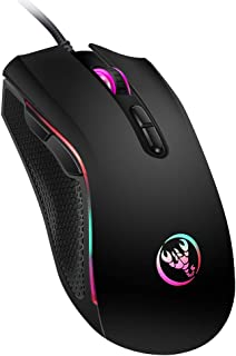 Wired Mouse Docooler A869 Wired Gaming Mouse 3200DPI 7 Buttons 7 Color LED Optical Computer Mouse Player Mice Gaming Mouse...