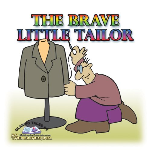 Page de couverture de The Brave Little Tailor