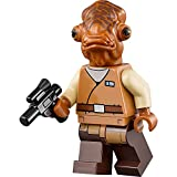 LEGO Star Wars Minifigure - Admiral Ackbar with Blaster
