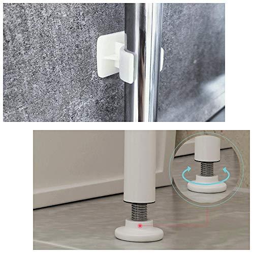 Gabinetes de baño Nivel 3 Durante la Lavadora y Secadora Estante ...