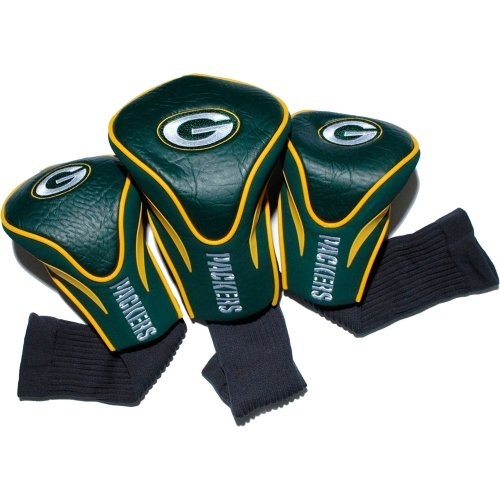 Review Of Team Golf NFL Green Bay Packers Contour Golf Club Headcovers (3 Count), Numbered 1, 3, & X...