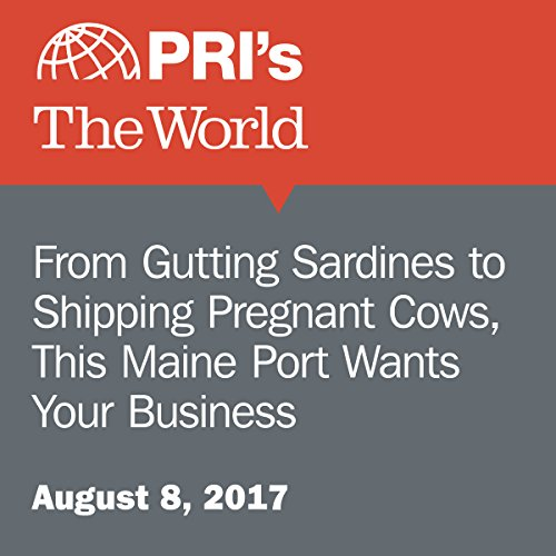 From Gutting Sardines to Shipping Pregnant Cows, This Maine Port Wants Your Business audiobook cover art