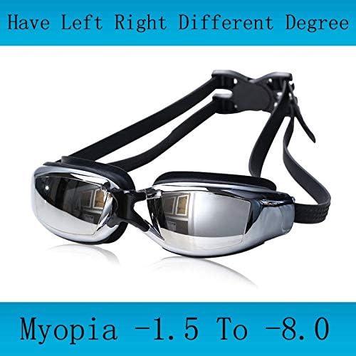 INFIKNIGHT INF Adult Professional Myopia Swimming Goggles Hommes Arena Diopter Swim Eyewear Anti Fog Swimming Glasses natacion Water Glasses