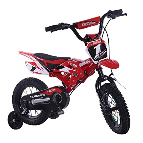 Affordable KuaiLei A++ 12''16''Children's Motorcycle Cycling Bicycle Stabilizer 4-Wheel Stroller (Co...
