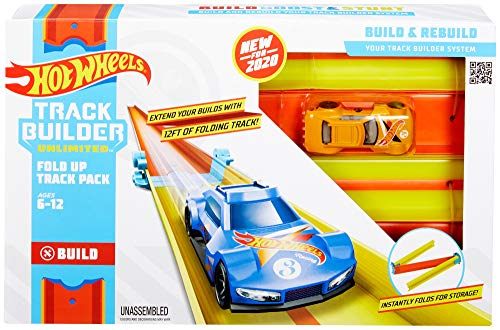 Hot Wheels Track Builder Accesorios para Pistas de Coches Plegable (Mattel GLC91) , color/modelo surtido