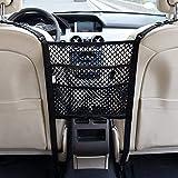 3 Layer Car Mesh Organizer,Seat Back Net Bag,Barrier of Backseat Pet Kids,Cargo Tissue