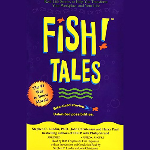 Fish! Tales audiobook cover art