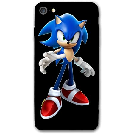 Sonic The Hedgehog Phone Cases for iPhone 7 Or Apple 8 Shell Back Soft Cell Mobile Cover Case with TPU PC Frame