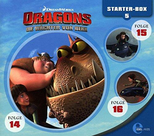 Dragons - Die Wächter von Berk - Starter-Box 5 (Hörspiel Folge 14-16)