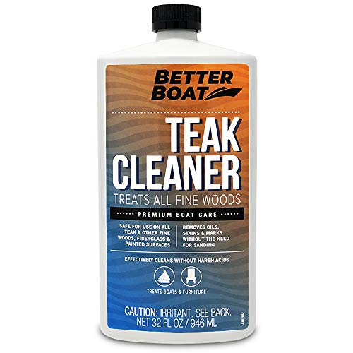 Better Boat Teak Cleaner