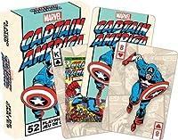 Marvel(マーベル)Captain America(キャプテン・アメリカ)Playing Card(トランプ) [並行輸入品]