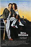 Baseball Classic Bull Durham Film Poster Susan Sarandon