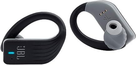 JBL Endurance Peak Waterproof Sport in-Ear Headphones with Built-in Remote and Microphone (Black)