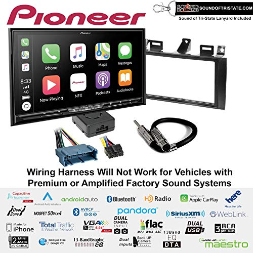 Fantastic Prices! Pioneer AVIC-W8500NEX 6.94 DVD Navigation Receiver with Wireless Apple CarPlay an...