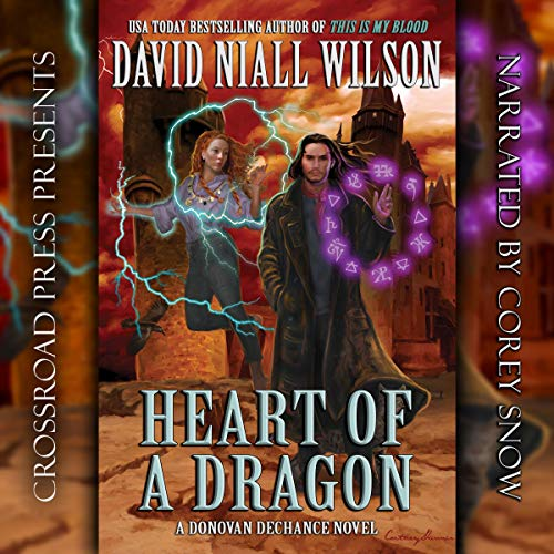 Heart of a Dragon audiobook cover art