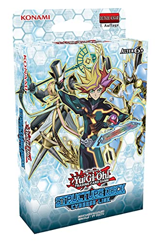Yu-Gi-Oh! TRADING CARD GAME Structure Deck Cyberse Link - Deutsche Ausgabe