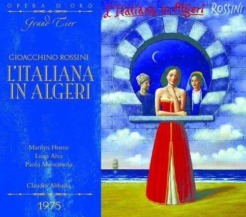 OPD 7023 Rossini-L'italiana in Algeri: Italian-English Libretto (Opera d'Oro Grand Tier)