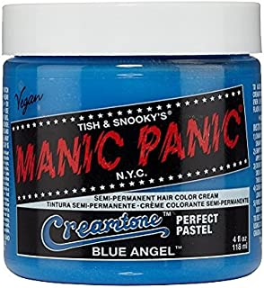 Manic Panic Blue Angel Pastel Blue Hair Dye Color